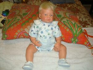 Lee Middleton Baby Real Life Blonde Doll by Reva Schick 060600