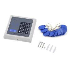 Electronic RFID Proximity Entry Door Lock Access Control System + 10 Key Fobs FE
