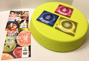 Zumba Rizer Step & 3 Workout Discs with Program Guide and Nutrition Book.