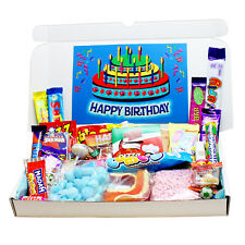 BIRTHDAY SWEETS GIFT SELECTION BOX- PERFECT FOR CHILDREN AND ALL AGES