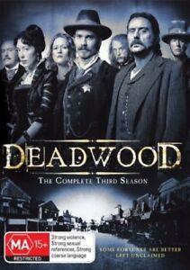 Deadwood : Season 3 (DVD, 2008, 4-Disc Set)