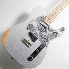 Fender/Brad Paisley Road Worn Telecaster Silver Sparkle beautiful rare EMS F/S*