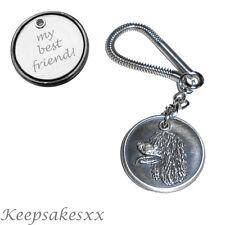Irish Water Spaniel DOG Tag UK Disc KEYRING Key Chain + PERSONALISED ENGRAVING