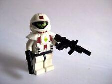 Lego Custom HALO ODST Minifigure Shock Trooper SMG Pistol -White Armor-