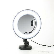 "12"" LED Ring Light, Table-Top Stand & Mirror Makeup For Photos & Videos - 30cm"