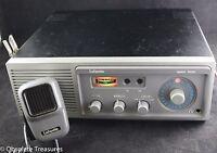 Vtg 70s LAFAYETTE Telsat 1000 CB Radio Base Station AC DC -23 Channels
