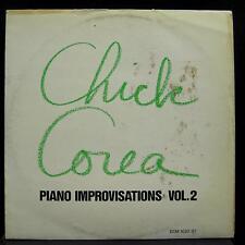 Chick Corea - Piano Improvisations Vol 2 LP VG+ ECM 1020 ST German Audiophile