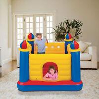 Jump-O-Lene Kids Children Blow Up Inflatable Bouncy Jump House Air Play Castle