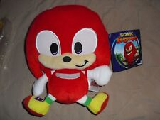 Happy Knuckles emoji plush TOMY sonic the hedgehog boom new with tag