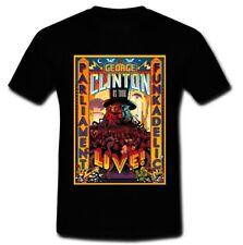 PARLIAMENT FUNKADELIC AMERICAN FUNK GEORGE CLINTON TOUR T-SHIRT S M L XL 2XL