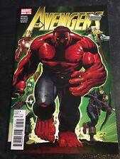 The Avengers#7 Incredible Condition 9.4(2010) Red Hulk,Infinity,Romita.jr Art!!