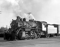 "1939 Locomotive, Concordia, Kansas Vintage Photograph 8.5"" x 11"" Reprint"