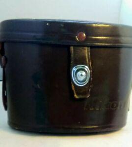 Nikon Brown Leather Binocular Case f/7x35 J-B7 w/strap