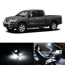 15x White Interior LED Lights Package Kit Fits 2009-2015 Nissan Titan