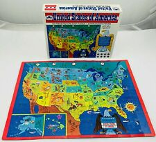 1965 United States Map Puzzle by Golden Complete in Great Cond FREE SHIP