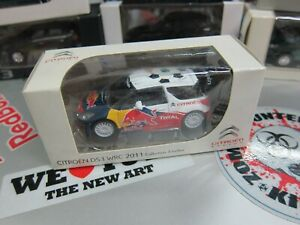 Norev - CITROEN DS3 WRC 2011 - Collection 3 inches - Mini Toy Car - A12