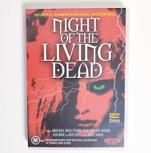Night of the living Dead DVD Free Post Region 4 AUS Horror Zombies