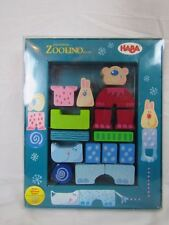 Bausteine Zoolino Maxi building blocks for baby- Made in Germany- zoo animals