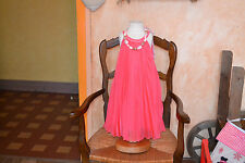 robe repetto neuve rose sorbet  4 ans  ans plissee 121 euros