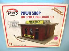 M56. MISB HO Scale MODEL KIT  Life-Like No.201 PAWN SHOP STORE