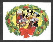 Turks & Caicos - 1984 Disney Christmas Carol Souvenir Sheet