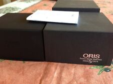 Oris men's presentation watch box with inner box & manual in very good condition