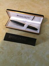 Reflections Fine Writing Instruments Black Pen Inscribed Chris