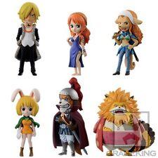 Banpresto One Piece WCF World Collection Figure Zou Set of 6 Sanji Nami Wanda