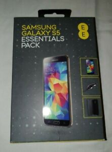 Samsung Galaxy S5 Essentials Bundle - screen protector, case & 2x in car charger