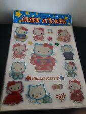 Hello Kitty Laser Stickers Animation Art Character Anime