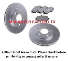 For Mercedes A Class W168 A140 A160 & A170 CDi Front Brake Discs & Pads