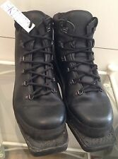 Genuine Alico Army Issue Black Nordic Ski Boots With Vibram Sole 10M SKI110M