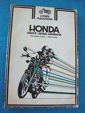 Honda SL350 CL350 CB350 CB360 CL360 CB200 SL175 CD175 CL160 Shop Manual 1964-76
