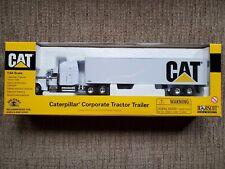 Norscot CAT 2001 Caterpillar Corporate Tractor Trailer 1:64 Diecast 55078 Mint