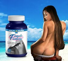 Sexual Pills FEMALE FANTASY Sexual Vitality Horny Goat Weed Maca (69 Ct)