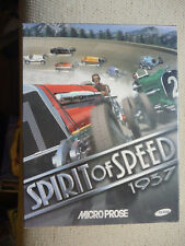 SPIRIT OF SPEED 1937 VINTAGE PC win 95/98 Game CD Rom Big Box RARE