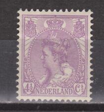 NVPH Netherlands Nederland 59 MLH Wilhelmina bontkraag 1899-1921 Niederlande