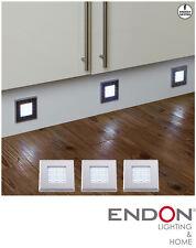 2 paquetes de 3 EL-10080 Luz LED Pedestal Enluce