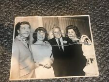 Desi Arnaz Edith Mack Hirsh Large Wedding Photograph Red Viens Sands Hotel 1963
