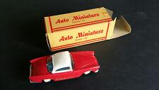 Tintin Voiture Minialuxe GCO 1/43 cadeau chèque Océane Plein-Ciel rouge no tôle