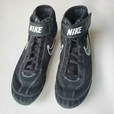 Nike Speedsweep Boy Kids Wrestling Shoes - Youth size 4.5 Y Black