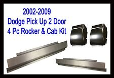 2002 2009 Dodge Ram Truck 2 Dr Regular Cab Slip-On Rocker & Cab Corner 4Pc Kit