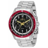 Invicta 33963 Men's Speedway Black and Silver Dial Chrono Watch
