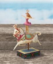 Jim Shore Heartwood 4007671 CIRCUS GIRL ON HORSEBACK, Bareback Ballerina, NEW