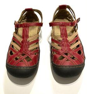 JBU by Jambu Designs Anza Women's Shoes Red Size 7.5 M