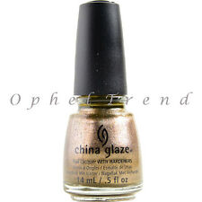 China Glaze Nail Polish Lacquer - Goldie But Goodie #1224 - 0.5 fl. oz.