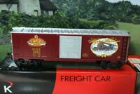 VINTAGE K-LINE TRAINS 6415603 ANHEUSER BUSCH BOXCAR- 0/027 SCALE - NEW - B15
