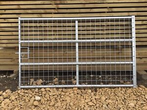 IAE BRITISH MADE QUALITY GALVANISED FULL MESH GATES
