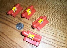 4 vintage Oscar Meyer Weiner Whistles Figures FREE SHIPPING