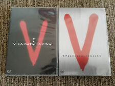 V + V LA BATALLA FINAL + V EPISODIOS FINALES SERIE TV - 10 DVD ESPAÑOL ENGLISH